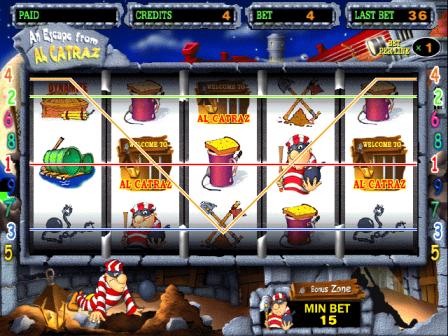 игровой автомат an escape from alcatraz